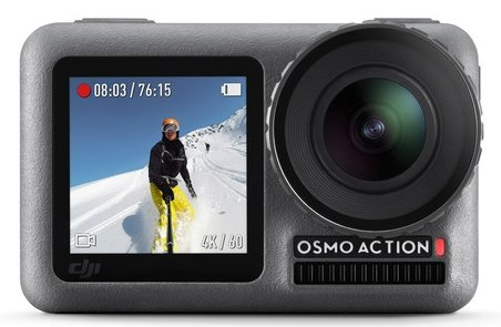 Osmo slow motion action camera