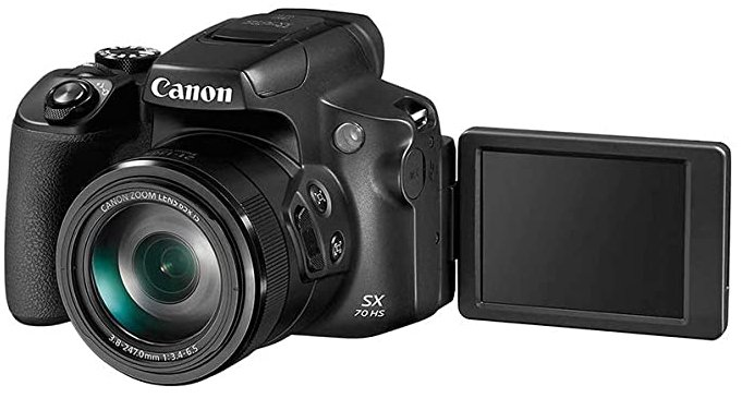 Canon PowerShot SX70 digital camera with optical zoom