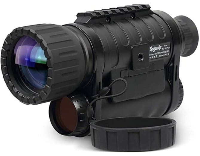 night vision infrared video camera for hunting