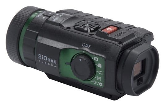 SiOnyx night vision video camera with optical zoom