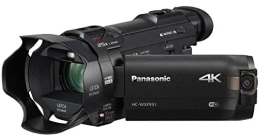 Panasonic sports camcorder with 4K ultra HD
