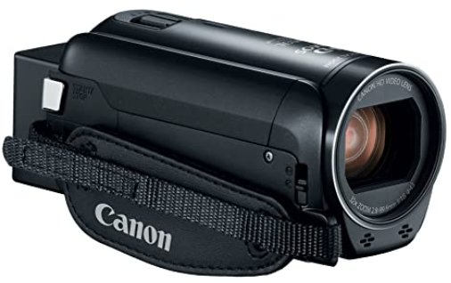 Canon camcorder for sports with LCD screen