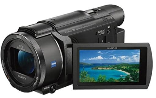 Sony sports cmcorder with 4K HD video