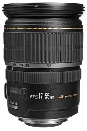 Canon EF-S 17-55mm lens for Canon EOS Rebel T2i