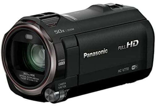 Panasonic sports camcorder with optical zoom and wi-fi