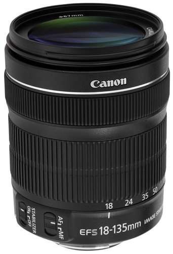 Canon STM lens 18-135mm and APS-C format